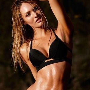 Victoria's Secret Hottie Hot Halter Swim Top 34DD